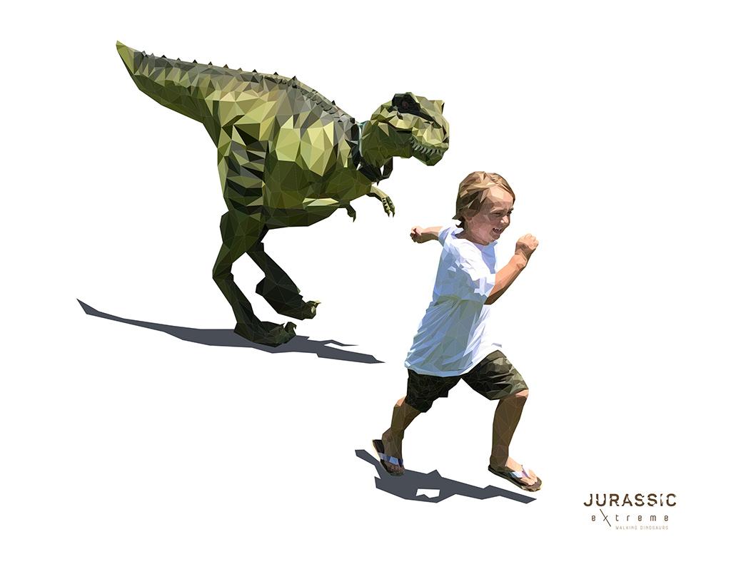 Jurassic Extreme Houston Dinosaur Art