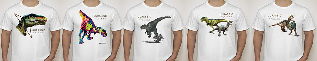 Jurassic Extreme T-shirts