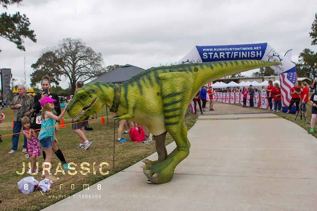 Walking Dinosaurs Costumes